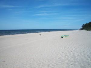 NAJCZYSTSZA, NAJSZERSZA, NAJPIĘKNIEJSZA w Polsce, to plaża w Pobierowie.