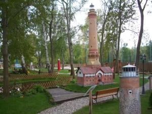 Nadmorski park miniatur i kolejek w Dziwnowie