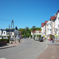 Pobierowo to miejscowość położona w malowniczym lesie...