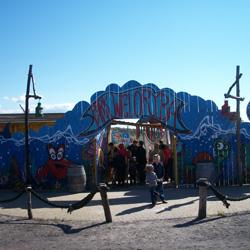Park Wieloryba w Rewalu. W czterech krainach tematy...